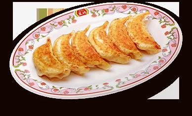 餃子(1人前:6個)