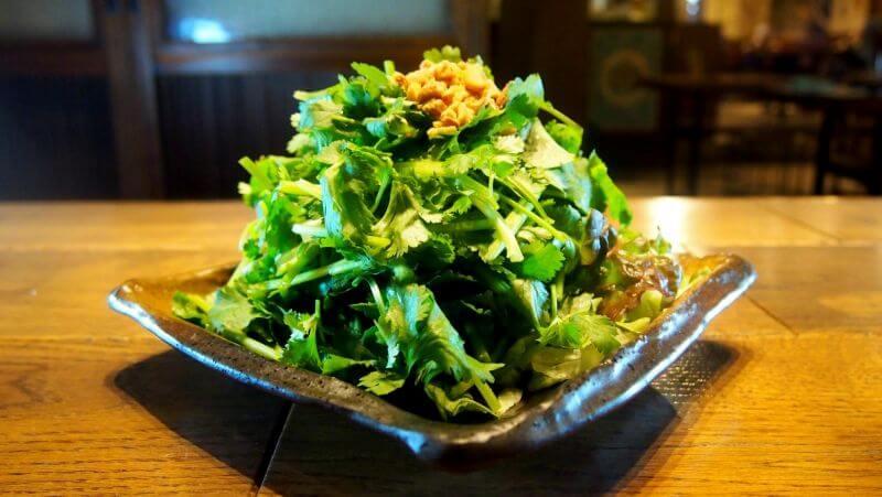 悪魔的に旨い香菜サラダ